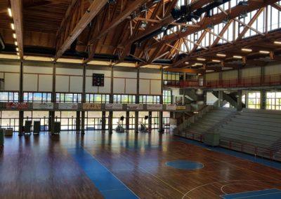 Palasport di La Spezia G. Mariotti – Tribune e Spogliatoi